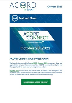 ACORD In Touch (October 2021)