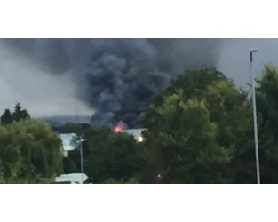 """Fire causes """"internal collapse"""" at industrial estate - Somerset Live"""