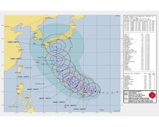 Typhoon Hagibis nears Super status, may threaten Japan later this week