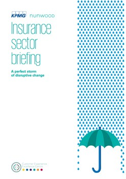 Insurance -  A perfect storm of disruptive change