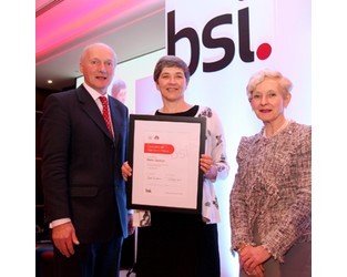 Airmic board member wins BSI award