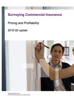 Surveying Commercial Insurance: Pricing and Profitability - 2018 Q3 update
