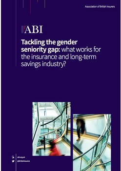 Tackling the gender seniority gap: what works for the insurance and long-term savings industry?