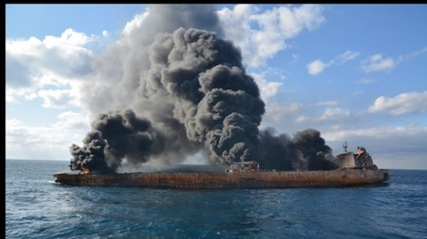 Iran: Foreign insurers have settled payouts for sunk tanker