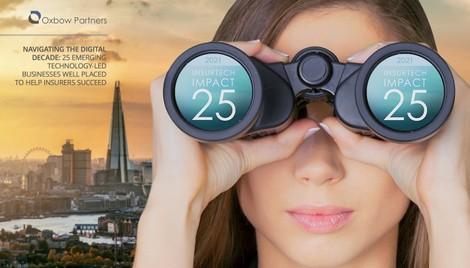 2021 InsurTech Impact 25 - Oxbow Partners