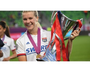 Lyon women's star Hegerberg out for months with knee ligament injury - France 24