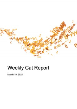 Weekly Cat Report - March 19, 2021