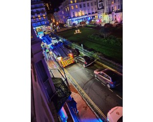 Homeless people evacuated amid hotel fire - The Argus