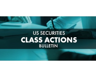 US Securities Class Actions Bulletin - Q2 2020