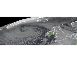 """Remnants of Hurricane """"Epsilon"""" to bring heavy rain, high waves, and strong winds to UK and Ireland - The Watchers"""