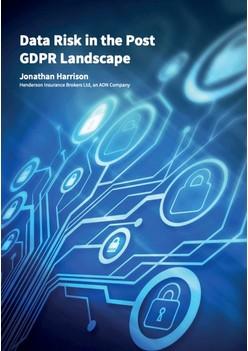 Data Risk in the Post GDPR Landscape