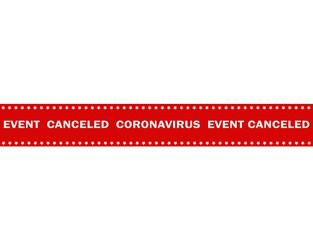 COVID-19 cuts its way through event calendar