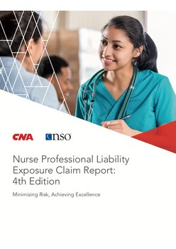 Nurse Professional Liability Exposure Claim Report: 4th Edition