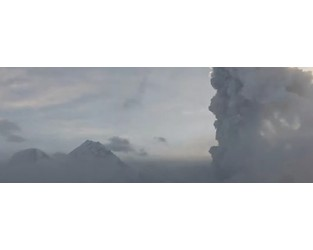 Strong eruption at Bezymianny volcano, ash up to 9.5 km (31 000 feet) a.s.l., Russia - The Watchers