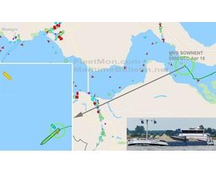 Inland cargo ship ran aground, damaged, may break in two, Western Scheldt - FleetMon