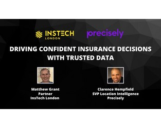 Webcast: Driving Confident Insurance Decisions with Trusted Data