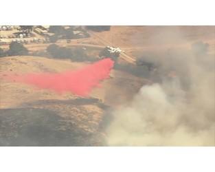 Brush Fire Burns Near Homes in South San Jose - NBC Bay Area