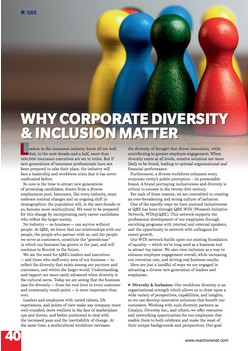 Why Corporate Diversity & Inclusion Matters