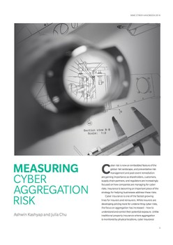 Measuring Cyber Aggregation Risk
