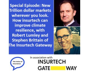 Podcast: Special Episode: New Trillion dollar markets wherever you look. - The Voice of Insurance