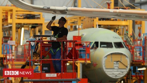 Future of UK aerospace 'in doubt' without EU deal - BBC