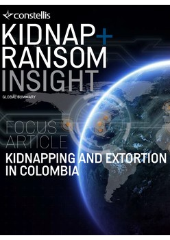 Constellis Kidnap & Ransom Insight - March 2018