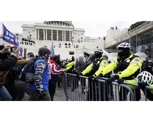 US braces for Inauguration Day violence