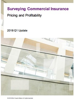 Surveying Commercial Insurance - Pricing and Profitability