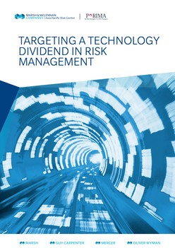 Targeting A Technology Dividend In Risk Management