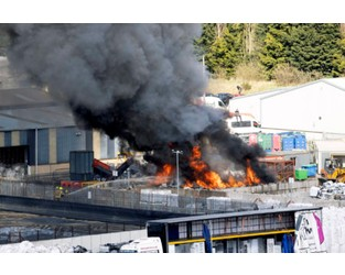 Fires break out at two Scottish waste plants - letsrecycle.com