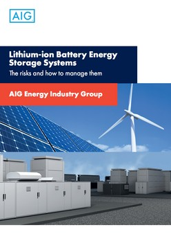 Lithium-ion Battery Energy Storage Systems The risks and how to manage them
