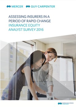 Assessing Insurers in a period of rapid change