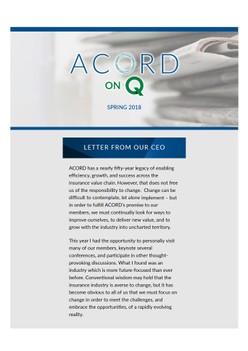 ACORD on Q (2018 Q1)