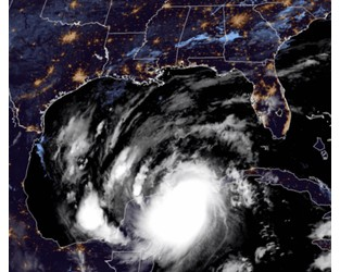 Hurricane Delta Makes Landfall in Mexico; Strengthening on a Path toward US Gulf Coast