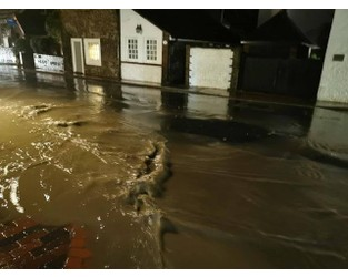 Flash flooding hits part of Brighton after Met Office warning - The Argus