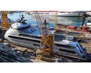 Outfitting of 89m explorer yacht Olivia O nears completion - Superyacht Times