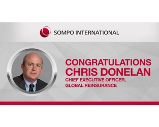 Christopher Donelan Appointed Chief Executive Officer of Sompo International's Reinsurance Business