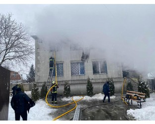 At least 15 killed, 11 injured in nursing home fire in Ukraine - Reuters