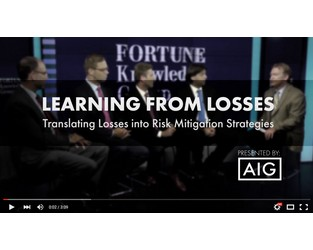 Translating Losses Into Risk Mitigation Strategies