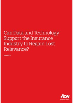 Can Data and Technology Support the Insurance Industry to Regain Lost Relevance?