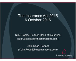 The new insurance regime - what UK businesses need to know