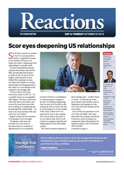 Scor eyes deepening US relationships