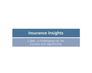 Video: Insurance Insights - Cyber