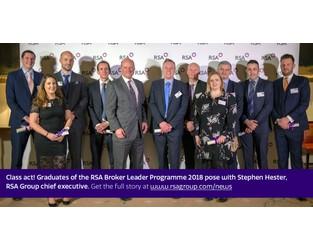 RSA celebrates broker leader programme class of 2018