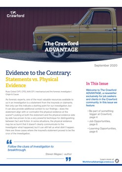 The Crawford ADVANTAGE — September issue