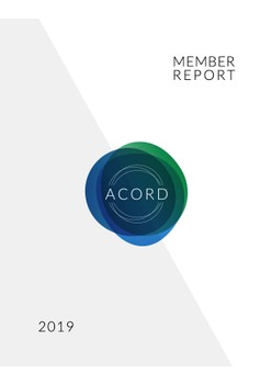 ACORD 2019 Member Report.