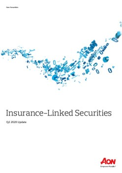 Insurance-Linked Securities Q2 2020 Update