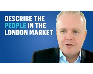 Describe the people in the London Market