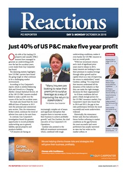 PCI Day 2: Just 40% of US P&C make five year profit