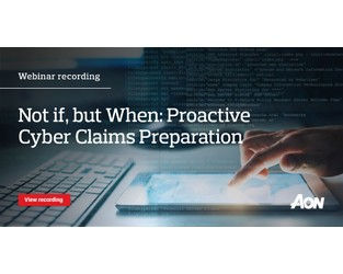 Webinar: Proactive Cyber Claims Preparation